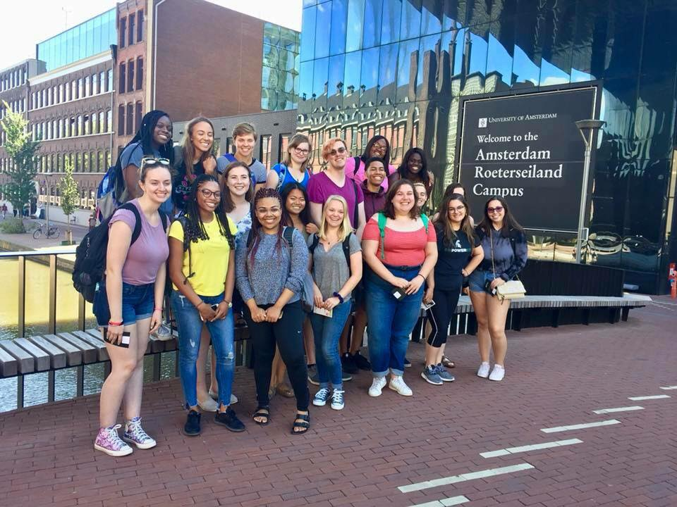 JMC students in Amsterdam